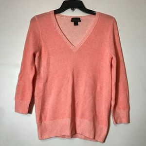 J.Crew Collection sherbert cashmere sweater size S